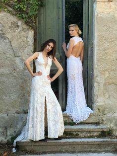 Απολαύστε την συλλογή UNIQUE ΝΥΦΙΚΑ by Designer Lewaa. Ζήστε την μοναδική εμπειρία της υψηλής ραπτικής την πιο σημαντική μέρα της ζωής σας. #Νυφικά #AtelierTsourani #DesignerLewaa #ΜοναδικάΝυφικά #ΧειροποίηταΝυφικά #ΜοντέρναΝυφικά #WeddingDress Handmade Wedding Dresses, Romantic, Bridal, Design, Fashion, Atelier, Moda, Fashion Styles