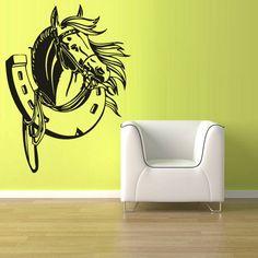 Wall Decal Vinyl Sticker Decals Horse Head by StickersForLife, $27.99