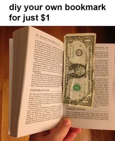 No need to buy bookmarks from stores! | 21 Hilariously Crappy Life Hacks That You Should Never Try