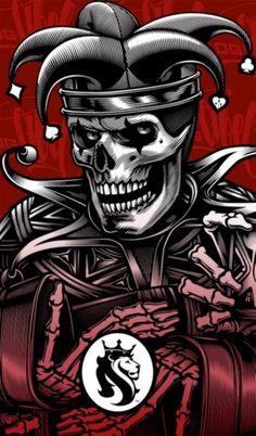 Skull Jester w/ Lion of Judah