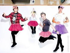 They're so punk rock it hurts