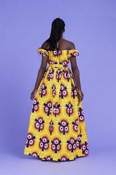 A stunning example of handmade African fashion, the Isaure maxi dress is bold, beautiful and perfect for showing off your curves. African Print Dresses, African Print Fashion, Africa Fashion, African Fashion Dresses, African Prints, African Clothes, Ankara Fashion, Hair Patterns, Dress Patterns