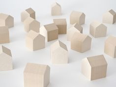Jun Inokuma and Yuri Naruse took the wood waste from architectural projects and recycled them to become Post-its. The result is a simple paper house made from the remnants of a big wooden house, as each stack of house-shaped Post-its forms a perfect tiny architectural structure on its own. A group of the Post-it houses makes for a quaint town, and the individual sheets look like a handy way to keep your place in any book.