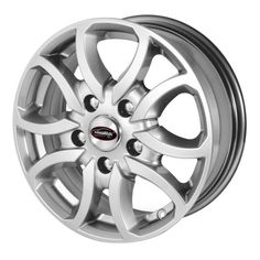 TEAM DYNAMICS SCORPION HYPER SILVER alloy wheels with stunning look for 5 studd wheels in HYPER SILVER finish with 15 inch rim size