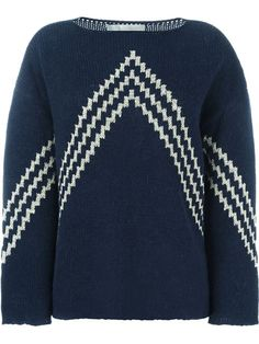 Shop Vanessa Bruno intarsia knit sweater in Rive Gauche from the world's best independent boutiques at farfetch.com. Shop 300 boutiques at one address.
