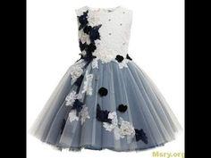 915e161e1 فستان للأطفال للعيد و المناسبات بأشكال ورد الجوبير المختلف ألوانه و تقديم  أفكار أخري جميلة - هوايتي.
