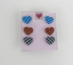 FREE Registered Shipping  Set of three pair of fabric by IL2C, $18.00
