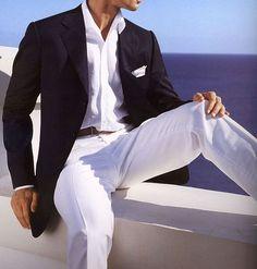 [ Cool Beach Wedding Groom Attire Ideas Pelfind 12 ] - Best Free Home Design Idea & Inspiration Beach Wedding Groom Attire, Beach Attire, Wedding Men, Wedding Suits, Trendy Wedding, Wedding Beach, Wedding Ideas, Yacht Wedding, Beach Groom