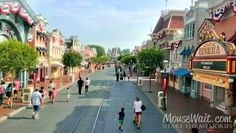 Live from the Omnibus going down Main Street #Disneyland