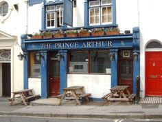 The Prince Arthur in Dean Street Brighton was another pub that I frequented lunch times when I worked at BT SEHQ Churchill Square - it is now called 'Brighton Beer Dispensary'