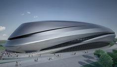 futuristic architecture, zaha hadid architectures