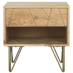 You'll love the Allsup Nightstand at AllModern - With Great Deals on modern Bedding + Bath products and Free Shipping on most stuff, even the big stuff.