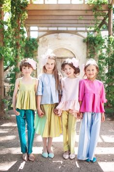 Aristocrat Kids – A Royal Tale tells a magical story through their newest Spring/Summer collection, Water Lily.