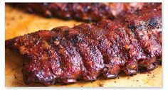 This rib recipe is practically famous...it's from Famous Dave's BBQ!