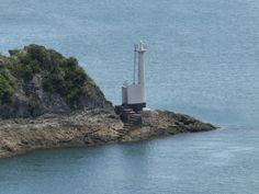 Misumi Kō lighthouse [1962 - Ninai Island, Kumamoto, Kyūshū Island, Japan]