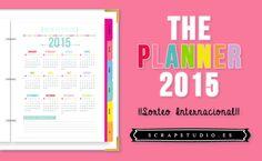 Para participar en el sorteo solo tenéis que dejar un comentario en la entrada del blog (1 solo por persona). http://scrapstudio.es/the-planner-2015-y-sorteo/  ¡¡¡MUCHA SUERTE!!! :-D