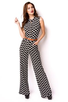 new jumpsuit woman lady cool outlet casul la tua moda summer clothes cool belt Sexy Outfits, Summer Outfits, Summer Clothes, Cloth Belt, Baby & Toddler Clothing, Jumpsuits For Women, Overalls, Dresses, Link