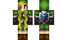 minecraft skin Link-girl Check out our YouTube : https://www.youtube.com/user/sexypurpleunicorn