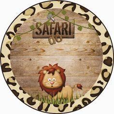 Safari do Isaac Safari Theme Birthday, Lion Birthday, 1st Boy Birthday, Jungle Party, Safari Party, Tag Safari, Safari Decorations, Party Kit, Birthday Pictures