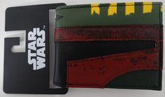 Star Wars Boba Fett Hlemet Bifold Wallet Nwt #BobaFettStarWars #Bifold