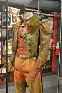 """costume worn by Brad Pitt in """"Interview with a Vampire"""" at #Oklahoma History Center in #OKC       (Brad Pitt= born in my home town)    """"Oklahoma at the Movies"""""""