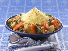 Couscous aux légumes et aux épices marocaines