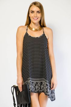 PAISLEY POINTED SHORT DRESS $16.99