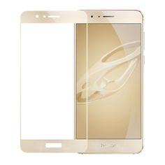 Full Cover Tempered Glass for Huawei Honor 8 Display Protection Full Screen Glass Gold - Zaluxis Shop Best Screen Protector, Tempered Glass Screen Protector, Smartphone, Shops, Panzer, Display, Iphone, Mobile Phones, Madness