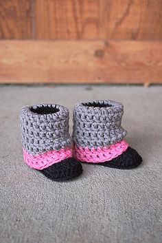 Ravelry: Little Audrey Boots pattern by Mamachee