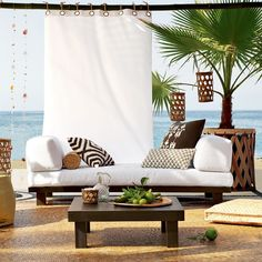 Vacation everyday and style our house like a beach house www.bombshellbayswimwear.com
