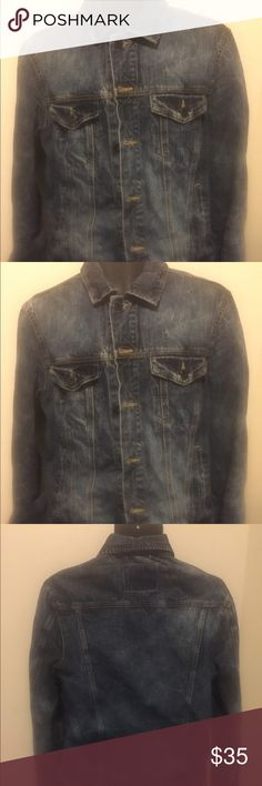 America eagle jean jacket Nice jean jacket American Eagle Outfitters Jackets & Coats Lightweight & Shirt Jackets