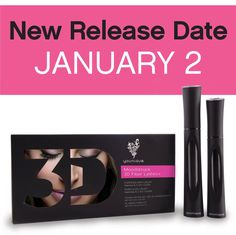 Our new and Improved 3D mascara will be released early. January 2nd get yours now before we run out. Message me for more info or to place an order. 35.00$ Canadian plus applicable taxes .
