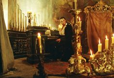Phantom of the Opera movie and musical by Andrew Lloyd Weber.