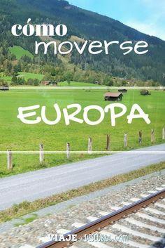 La guía completa con los medios de transporte de Europa: ´¿cómo moverse? Acá las respuestas:
