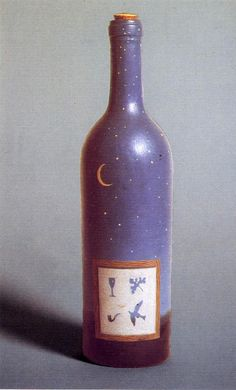 Rene Magritte S Painted Bottles