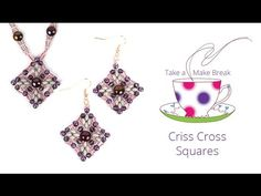 Criss Cross Squares | Take a Make Break with Sarah