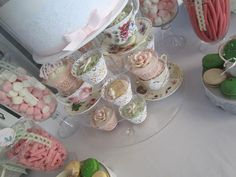 Beautiful bird themed High Tea Bridal Shower by Cakes by Joanne Charmand on Little Big Company blog