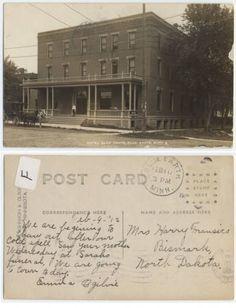 Blue Earth Hotel In Minnesota Faribault County Historical Society