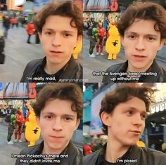 Tom Holland - One shots - Tea - Tom Holland Have a crush on Tom Holland? Well you came to the right place, just a set of Tom Holland, Peter Parker and Spider-man one shots. Contains fluff and some smut ; Marvel Jokes, Marvel Avengers, Funny Marvel Memes, Dc Memes, Avengers Memes, Stupid Funny Memes, Funny Relatable Memes, Funny Stuff, Baby Avengers