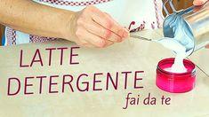 LATTE DETERGENTE FATTO IN CASA DA BENEDETTA