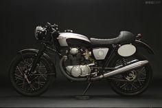 1972 Honda CB 350 Cafe Racer / AHRMA Production Class Racer built by Jason Paul Michaels and Scott Turner.