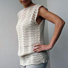 Crochet Pattern PDF crochet top crochet tunic by byaccessorise, $5.00