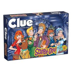 The classic board game meets the popular cartoon show with CLUE: Scooby-Doo. It's up to Scooby-Doo and the gang to discover WHO was abducted, WHERE the abduction took place, and WHAT item the Monster left behind. Scooby Doo Games, Scooby Doo Movie, Scooby Doo Mystery Incorporated, Clue Games, Mystery Games, Classic Board Games, Disney Winnie The Pooh, Family Game Night, Cartoon Shows