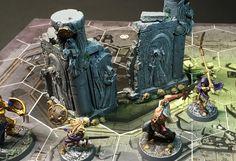Wargaming Terrain, Building Ideas, Underworld, Tabletop, Minis, Modeling, Scenery, Crafting, Miniatures