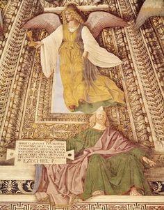 Melozzo da Forli, Ez. 3.14. Spiritus quoque levavit me...