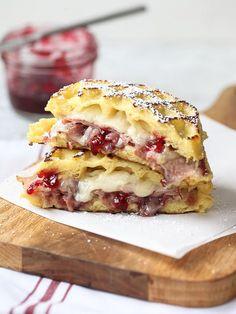 Monte Cristo Waffle Sandwich. Mmmmm.