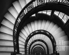 Rookery Stairwell Art Print by Jim Christensen at Art.com