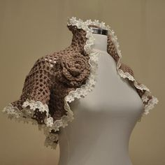 crochet shrug bytrendyknitting