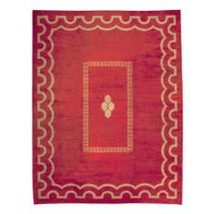 A French Art Deco Rug Designed By Jacques Adnet