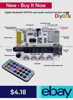 FM Transmitters #ebay #Consumer Electronics Fm Antenna Diy, Diy Electronics, Consumer Electronics, Diy Box, Car Audio, Bluetooth, Remote, Usb, Technology